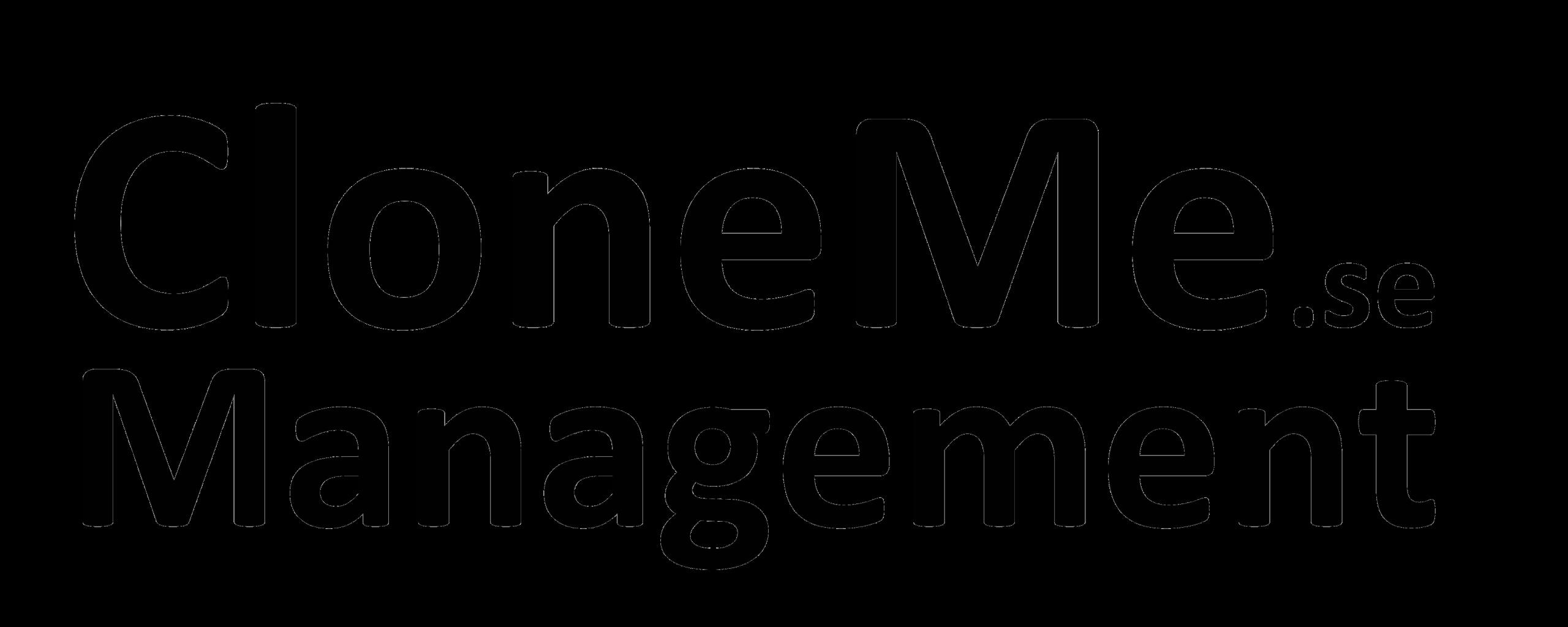 CloneMe Management - Affärssystem och processer, Företagsledning, Projektledning och IT kompetenser (IT chef, IT Ansvarig,Systemarkitekt,Databasarkitekt m.fl)